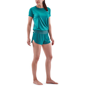Skins Series-3 Run Shorts Women teal